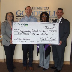 Chemical Bank check presentation
