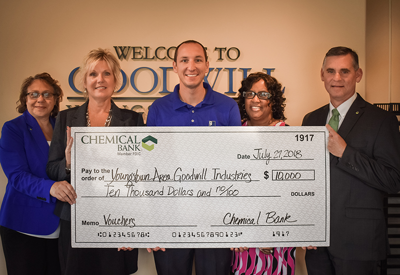 Goodwill Industries Check Presentation