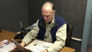 Tom Gibbons, longtime Radio Reading Volunteer
